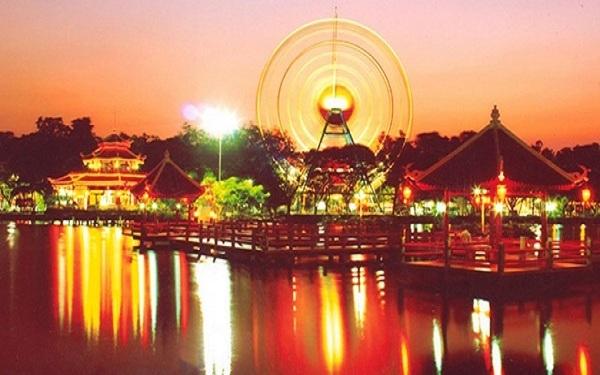 Công viên văn hóa Đầm Sen – Khu vui chơi dành cho mọi lứa tuổi