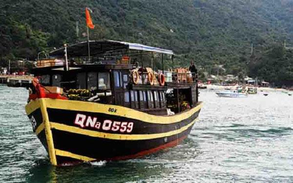 Tàu gỗ Cù Lao Chàm