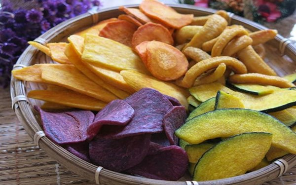 Đặc sản trái cây sấy Đà Lạt mê hoặc khách du lịch