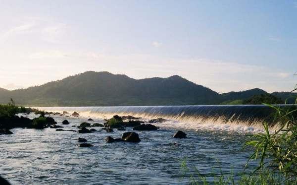 Danh lam thắng cảnh hữu tình tại Đập Đồng Cam