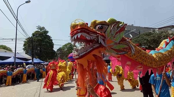 Mô phỏng nghi thức lễ hội đền Kỳ Cùng