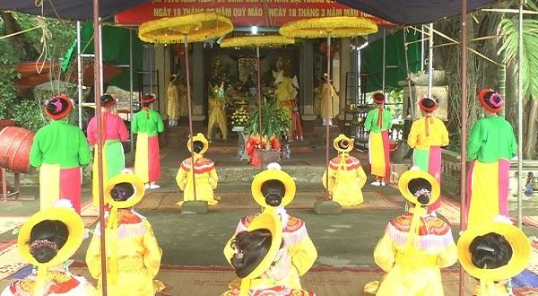 lễ hội đền Tiên La diễn ra hàng năm