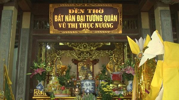 đền thờ Đông Nhung tướng quân