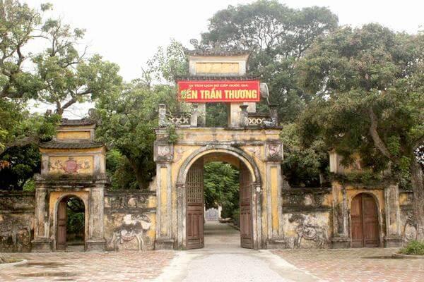Đền Trần Thương lưu giữ những giá trị lịch sử lâu đời