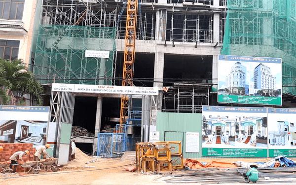 Xây dựng khách sạn đảm bảo về cơ sở vật chất