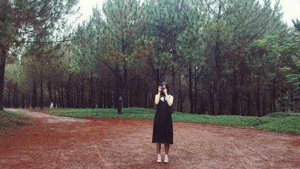 """Đồi Vọng Cảnh là địa điểm chụp ảnh """"sống ảo"""" cực kỳ hấp dẫn."""