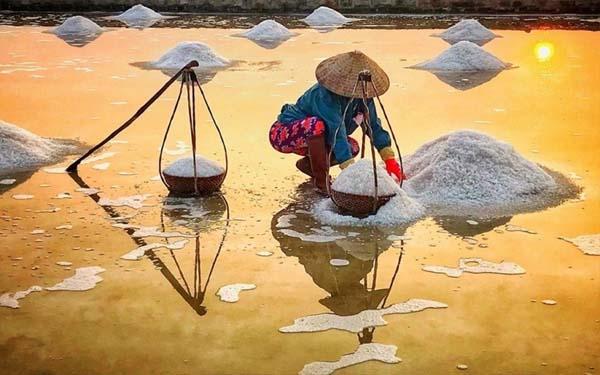 Thị trường muối Sa Huỳnh