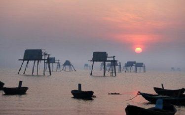 Đến bãi biễn Đồng Châu để bắt trọn khoảng khắc bình minh trên biển
