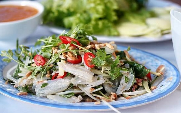 Gỏi cá Phan Thiết ngon nhất là làm từ cá Mai