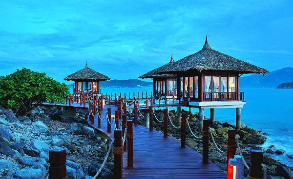 Bungalow - những nhà nghỉ bằng tre, gỗ,... đậm chất Việt ở Hòn Tằm