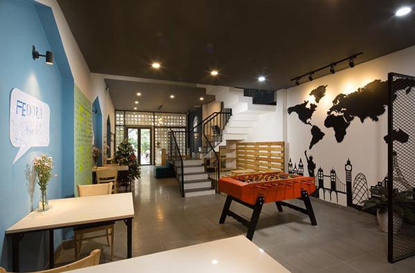 Kinh doanh Hostel cần chú ý đến không gian sinh hoạt chung giúp du khách thoải mái hơn