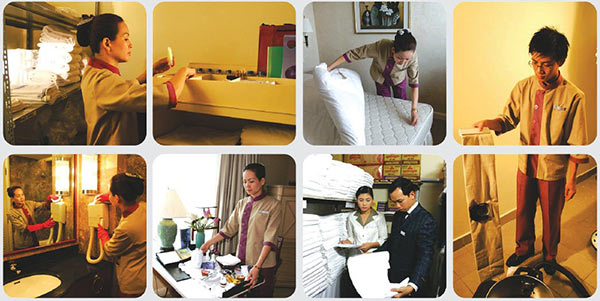 Housekeeper phải đảm nhận công việc cần sự tỉ mỉ và tính trung thực