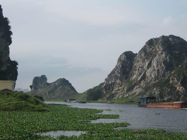 Cảnh đẹp thơ mộng ở Kẽm Trống Hà Nam