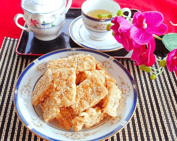 Thơm ngon kẹo đậu phộng Đà Nẵng