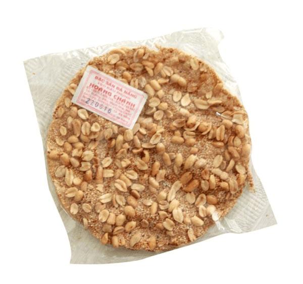 Kẹo đậu phộng được đóng gói cẩn thận và đẹp mắt