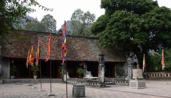 Kiến trúc đền vua Đih, vua Lê