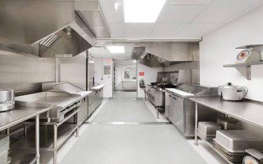 Cách tính kích thước bếp khách sạn phù hợp số phòng khách sạn
