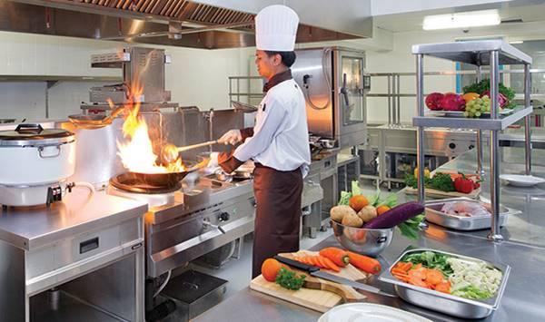 kích thước bếp khách sạn tính như thế nào