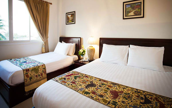 Phòng ngủ khách sạn 2 sao