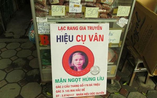 Địa chỉ thương hiệu Bà Vân chính tông