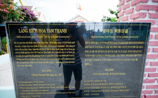 Dự án làng bích họa Tam Thanh