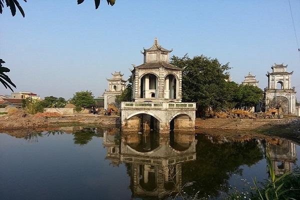 đền thờ sư tổ làng nghề