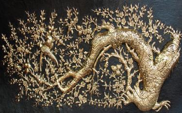 Ghé làng nghề chạm bạc Đồng Xâm khám phá nghề cổ xứ Việt