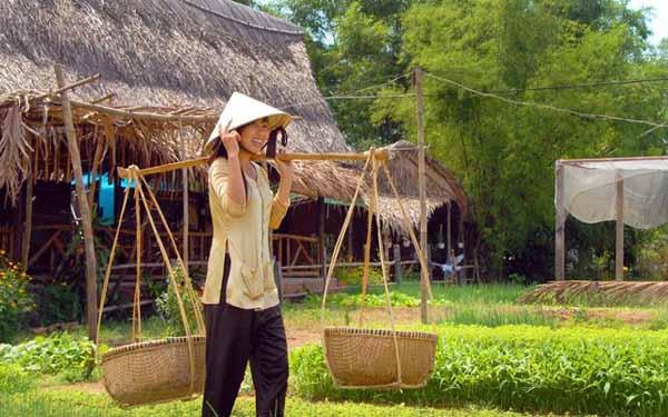 Hướng dẫn đường đi tới làng rau trà quế