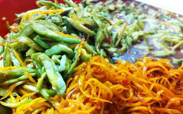 Mắm dưa cà Đà Nẵng – món ăn dân dã của đất miền Trung