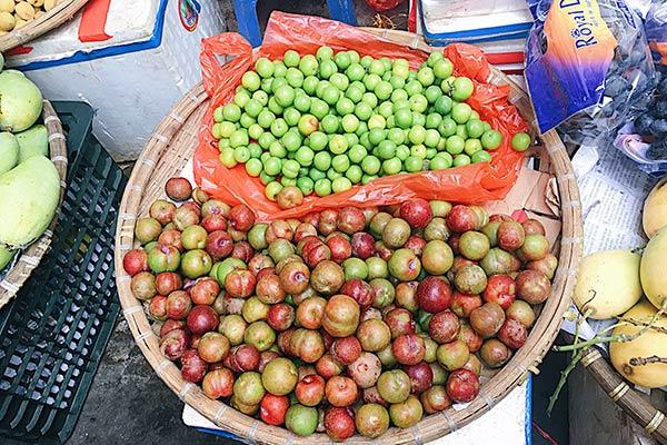 Sau mùa mận hậu, khắp chợ sẽ bán mận cơm