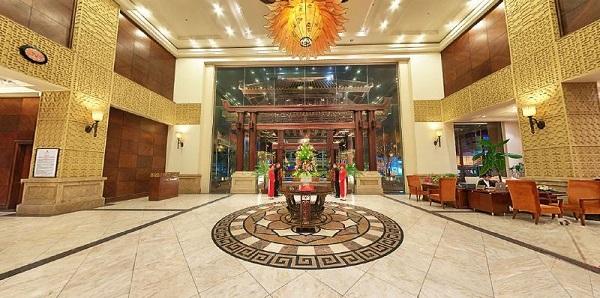 Mặt tiên khách sạn là nơi tạo ấn tượng đầu tiên cho khách hàng
