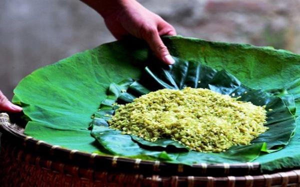 Mọc cốm – món ăn tinh hoa lúa nếp nương vùng Tây Bắc