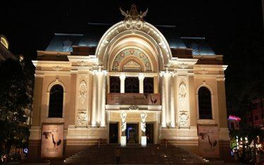Nhà hát Thành phố – Lâu đài phong cách Tây Âu giữa lòng Sài Gòn