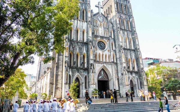 Hình ảnh nhà thờ Lớn Hà Nội