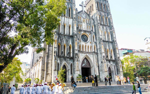 Nhà Thờ Lớn Hà Nội: Nhà thờ có kiến trúc độc đáo của Việt Nam
