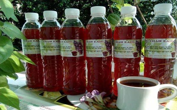 Rượu nho Ninh Thuận nguyên chất làm quà tặng ý nghĩa