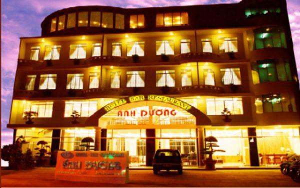 Khách sạn 2 sao Ánh Dương tọa lạc tại trung tâm thành phồ Đà Lạ