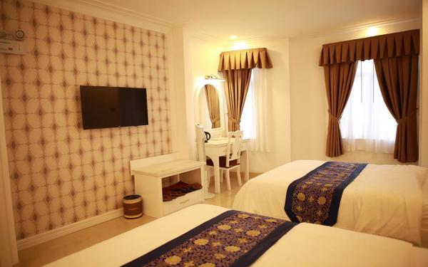 Phòng cao cấp 2 giường của khách sạn Tulip 3 Đà Lạt