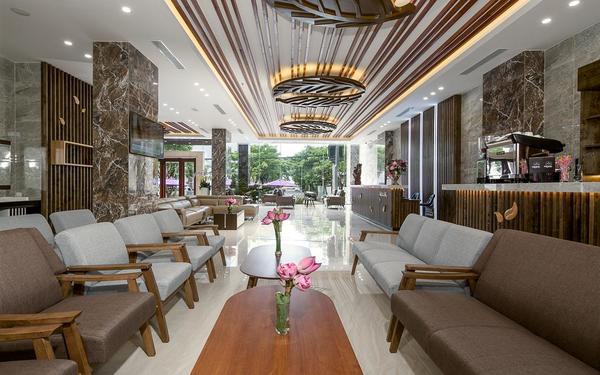 Thiết kế sảnh tinh tế trong từng đường nét của khách sạn Aria Grand
