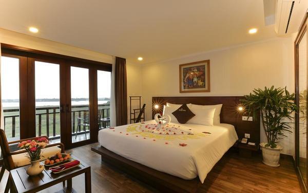 Phòng đơn khách sạn Odyssey Hội An đem đến cảm giác nhẹ nhàng, dễ chịu