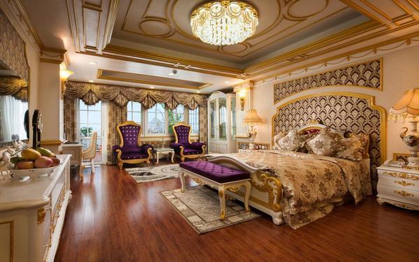 Phong cách cổ điển sang trọng của phòng ngủ khách sạn Boss Legend