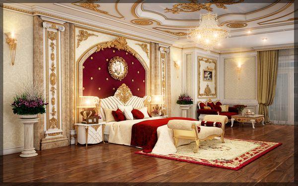 Phòng ngủ mang gam màu nhẹ nhàng nhưng vẫn quyến rũ