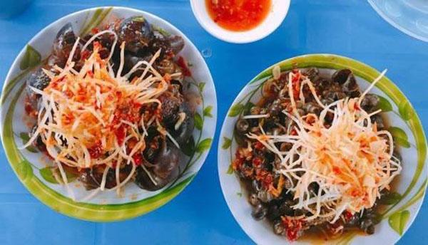Ốc hút Đà Nẵng tại Cô Ta