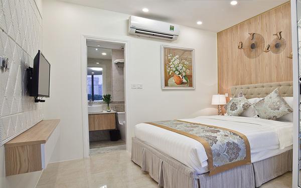 Phòng ngủ đảm bảo tính thoải mái và tiện nghi