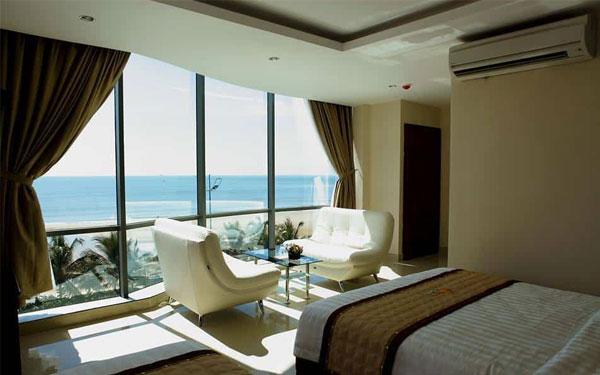 Thiết kế phòng ngủ hướng ra biển