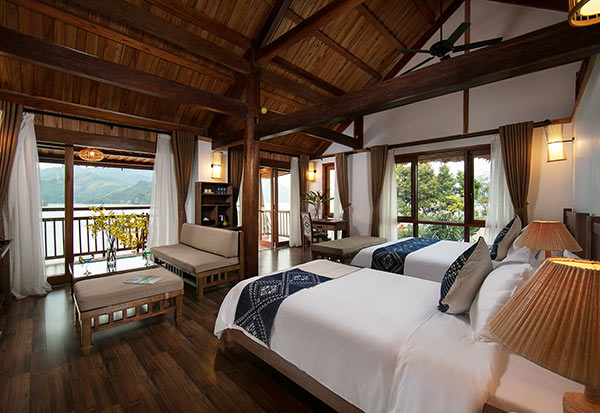Phòng family suite của Mai Châu hideaway lake resort