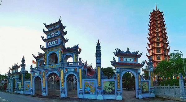 Quần thể kiến trúc đền, chùa
