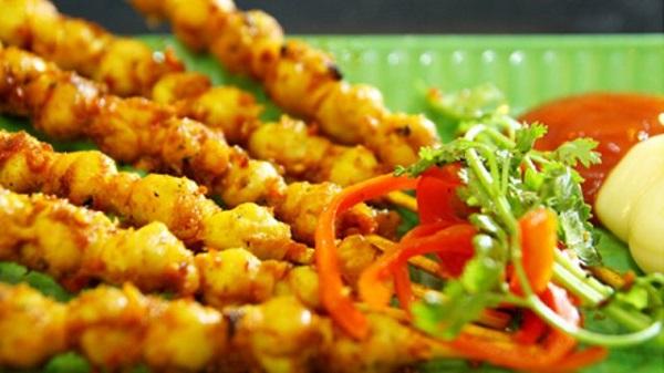 Món răng mực có mặt ở nhiều nhà hàng Phan Thiết