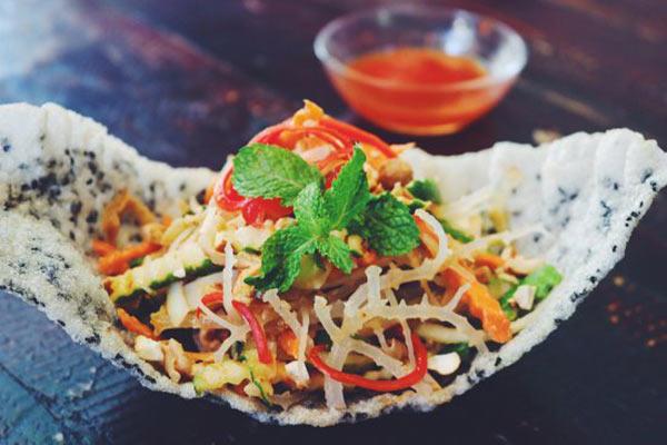 Rau câu chân vịt chế biến thành nhiều món ăn ngon
