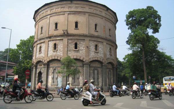 Tháp nước Hàng Đậu: Hiện vật lịch sử cổ kính giữa lòng thủ đô